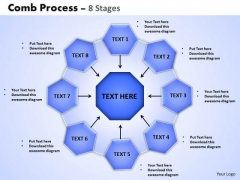 Consulting Diagram Comb Process 8 Stages Strategy Diagram