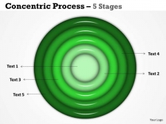 Consulting Diagram Concentric Process 5 Stages For Sales Strategy Diagram