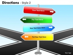 Consulting Diagram Directions Style 2 Strategy Diagram