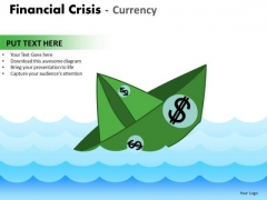 Consulting Diagram Financial Crisis Currency Strategy Diagram