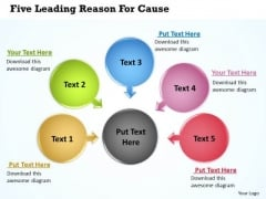 Consulting Diagram Five Leading Reason For Cause 13 Strategy Diagram