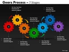 Consulting Diagram Gears Process 7 Stages Strategy Diagram