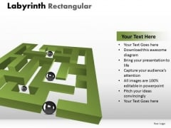 Consulting Diagram Labyrinth Rectangular Business Cycle Diagram