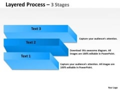 Consulting Diagram Layered Process 3 Stages For Business Sales Diagram