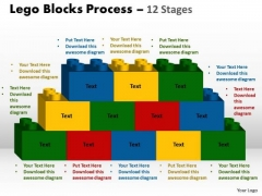 Consulting Diagram Lego Blocks Process 12 Stages Strategy Diagram