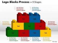 Consulting Diagram Lego Blocks Process 9 Stages Strategic Management