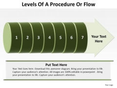 Consulting Diagram Levels Of A Procedure Or Flow 7 Stages Sales Diagram