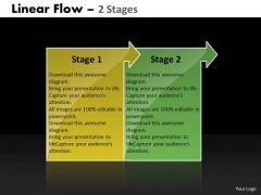 Consulting Diagram Linear Flow 2 Stages