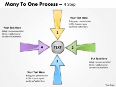 Consulting Diagram Many To One Process 4 Step 6 Strategy Diagram