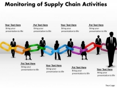 Consulting Diagram Monitoring Of Supply Chain Activities Business Cycle Diagram