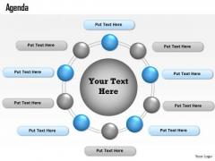 Consulting Diagram Multi Staged Agenda Curve Diagram Business Diagram