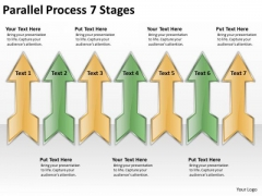 Consulting Diagram Parallel Process 7 Stages Business Cycle Diagram