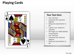 Consulting Diagram Playing Cards Strategic Management