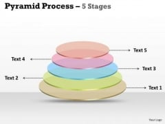 Consulting Diagram Pyramid Process 5 Stages For Business Marketing Diagram