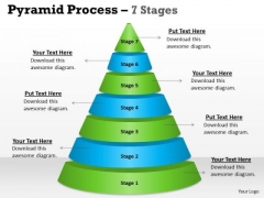 Consulting Diagram Pyramid Process 7 Stages For Sales Business Cycle Diagram