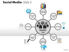 Consulting Diagram Social Media Style 2 Diagram Strategy Diagram