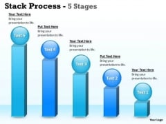 Consulting Diagram Stack Process With 5 Stages Strategy Diagram