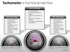 Consulting Diagram Tachometer Full Dial Business Diagram