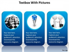 Consulting Diagram Textbox With Pictures Business Diagram