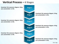 Consulting Diagram Vertical Process 6 Stages Marketing Diagram