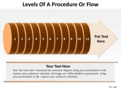 Levels Of A Procedure Or Flow 11 Stages Sales Diagram