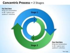 Marketing Diagram 2 Stages Concentric Circles Business Planning 1 Strategy Diagram