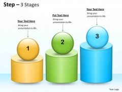 Marketing Diagram 3 Steps For Production Planning Consulting Diagram