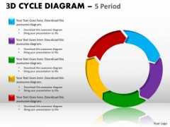 Marketing Diagram 3d Cycle Diagram Strategy Diagram