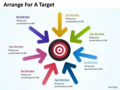 Marketing Diagram Arrange For A Target Consulting Diagram