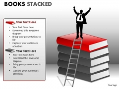 Marketing Diagram Books Stacked Strategy Diagram