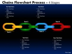 Marketing Diagram Chains Flowchart Process Diagram 4 Stages Consulting Diagram