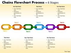 Marketing Diagram Chains Flowchart Process Diagram 6 Stages Business Framework Model