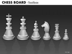 Marketing Diagram Chess Board Strategy Diagram
