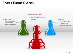 Marketing Diagram Chess Pawn Pieces Sales Diagram