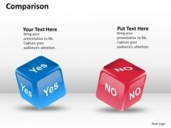 Marketing Diagram Comparison Business Diagram