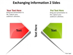 Marketing Diagram Exchanging Information Sides Sales Diagram
