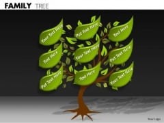 Marketing Diagram Family Tree Business Diagram