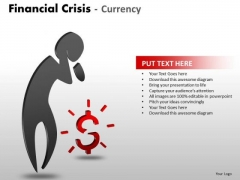 Marketing Diagram Financial Crisis Currency Strategy Diagram