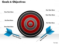 Marketing Diagram Focus On Business Goals Business Framework Model
