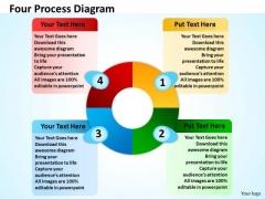 Marketing Diagram Four Process Diagram Consulting Diagram