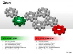 Marketing Diagram Gears Business Framework Model
