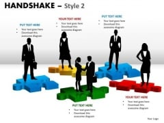 Marketing Diagram Handshake Style 2 Business Cycle Diagram
