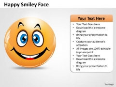Marketing Diagram Happy Smiley Face Sales Diagram