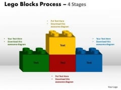 Marketing Diagram Lego Blocks Process 4 Stages Strategy Diagram