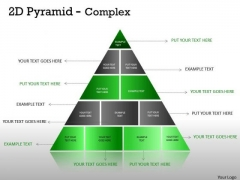 Marketing Diagram Multistaged 2d Pyramid Design Strategy Diagram