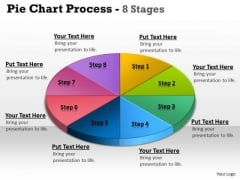 Marketing Diagram Pie Chart Process 8 Stages Business Cycle Diagram