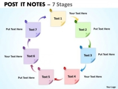 Marketing Diagram Post It Notes 7 Stages Consulting Diagram
