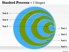 Marketing Diagram Stacked Process 7 Stages Strategic Management