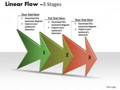 Marketing Diagram Strategy Diagram Linear Arrow Process 3 Stages Sales Diagram