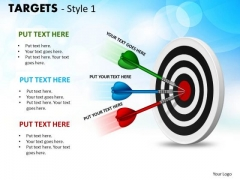 Marketing Diagram Targets Style 1 Strategy Diagram